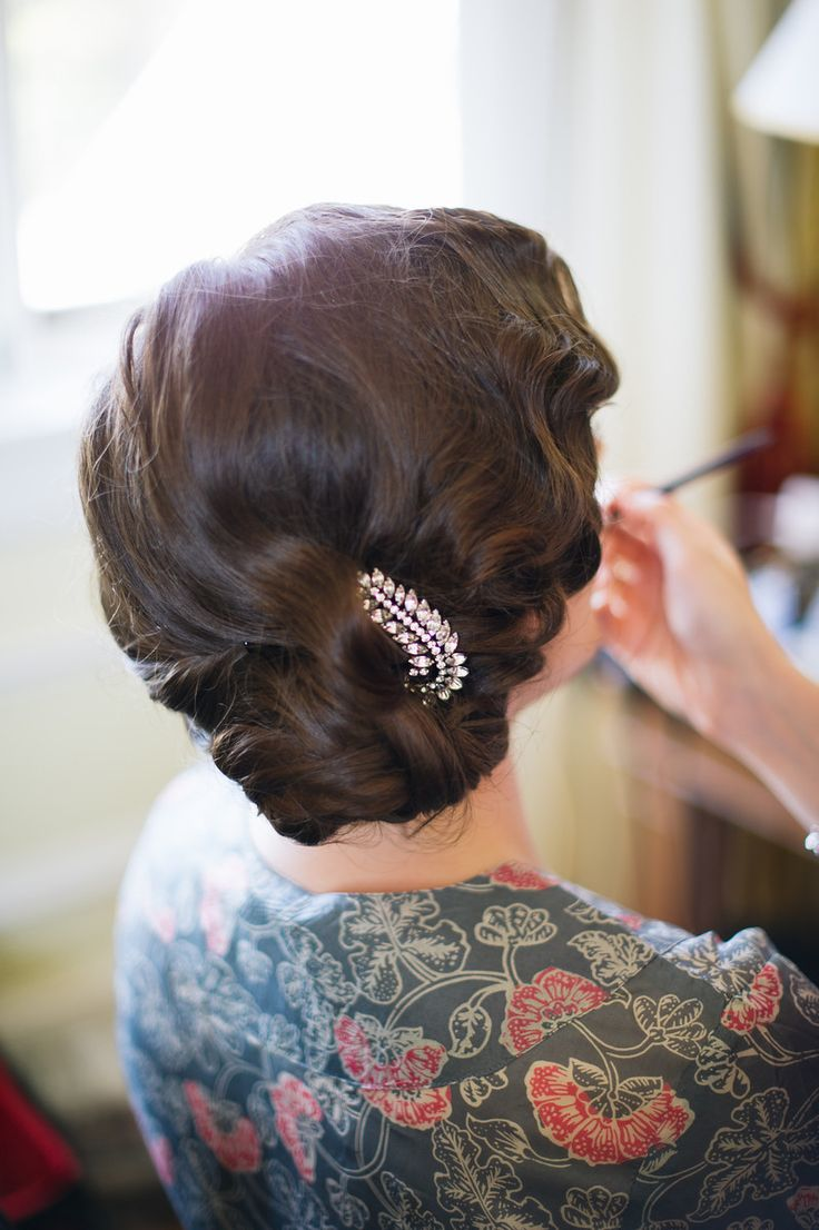 See It, Do It: Glammy Finger Waves A Practical Wedding: Blog Ideas for the Modern Wedding, Plus Marriage