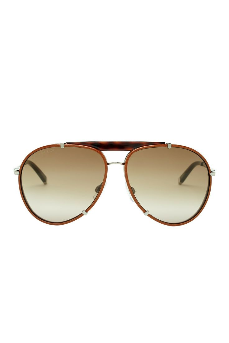 Dsquared Men's Light Brown Metal Sunglasses