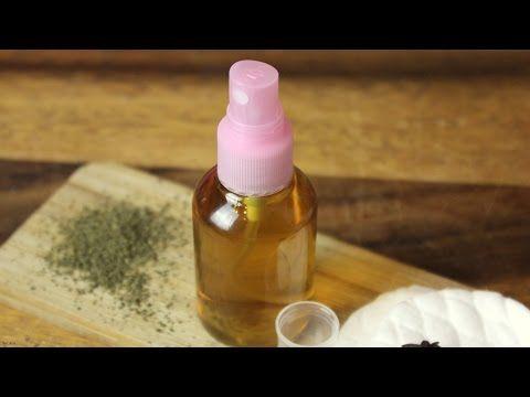 Selbstgemachtes Naturheilmittel aus Tee| Salbeispray| gegen starkes Schwitzen| gegen Akne (vegan) - YouTube