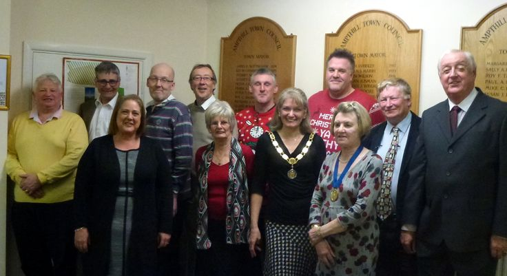 Ampthill Town Councillors 2015/16