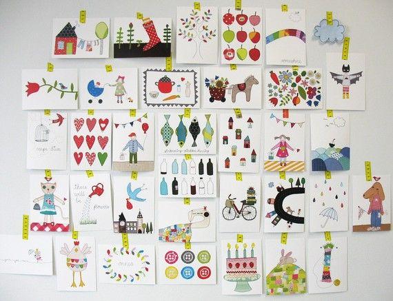 Beautiful postcards