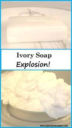 kids science experiment: Ivory soap explosion