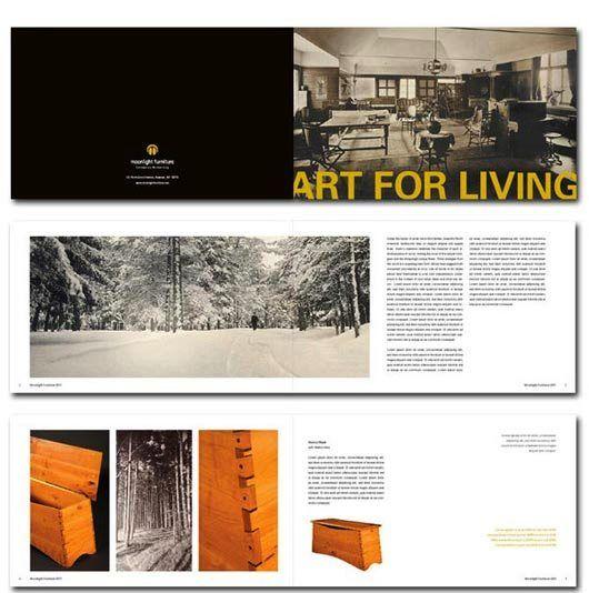 Desain Katalog Brosur Furnitur Modern -   Moonlight Furniture 1