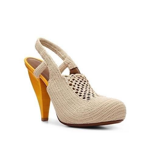 Crochet shoes {Bottega Venetta}