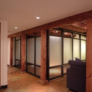 Glass Partition Design