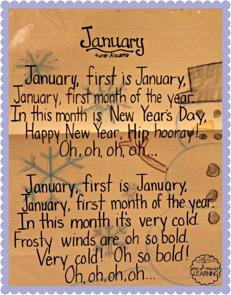 Calendar Poems For Kindergarten : Best images about engels winter vrijeschool