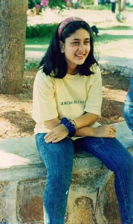 Kareena Kapoor Khan in childhood #still