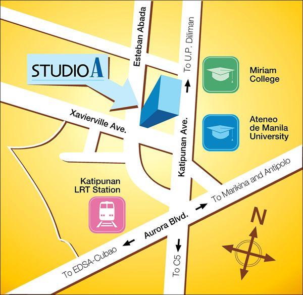 Studio A Katipunan Location