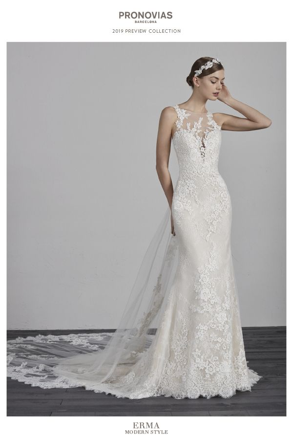 Are you a modern bride  Discover the 2019 PRONOVIAS Preview Collection 0a82c0719bd