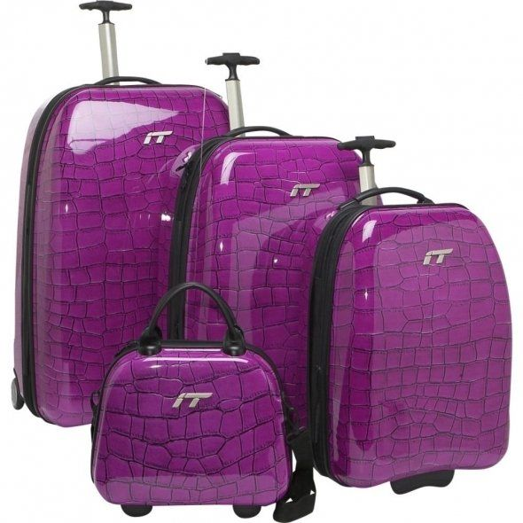 7 best luggage images on Pinterest | Luggage sets, Purple luggage ...