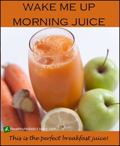 Are you just getting started with juicing and not sure what your first recipe should be? Try this Wake me up Morning Juice