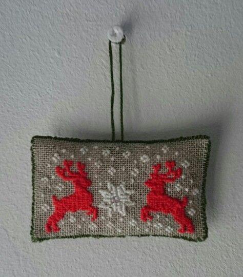 Zawieszka na święta / christmas stitching