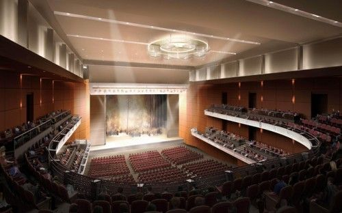 Yantai Grand Theater (Shandong province, China)