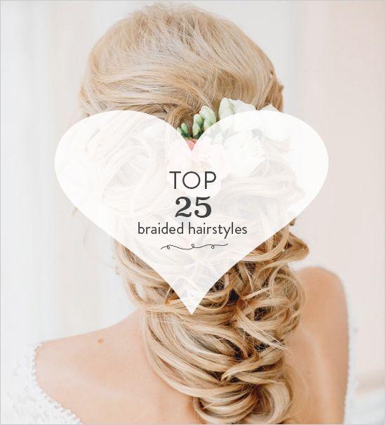 Top 25 Braided Wedding Hair Ideas That You Will Love http://www.weddingchicks.com/25-braided-wedding-hair-ideas-love/