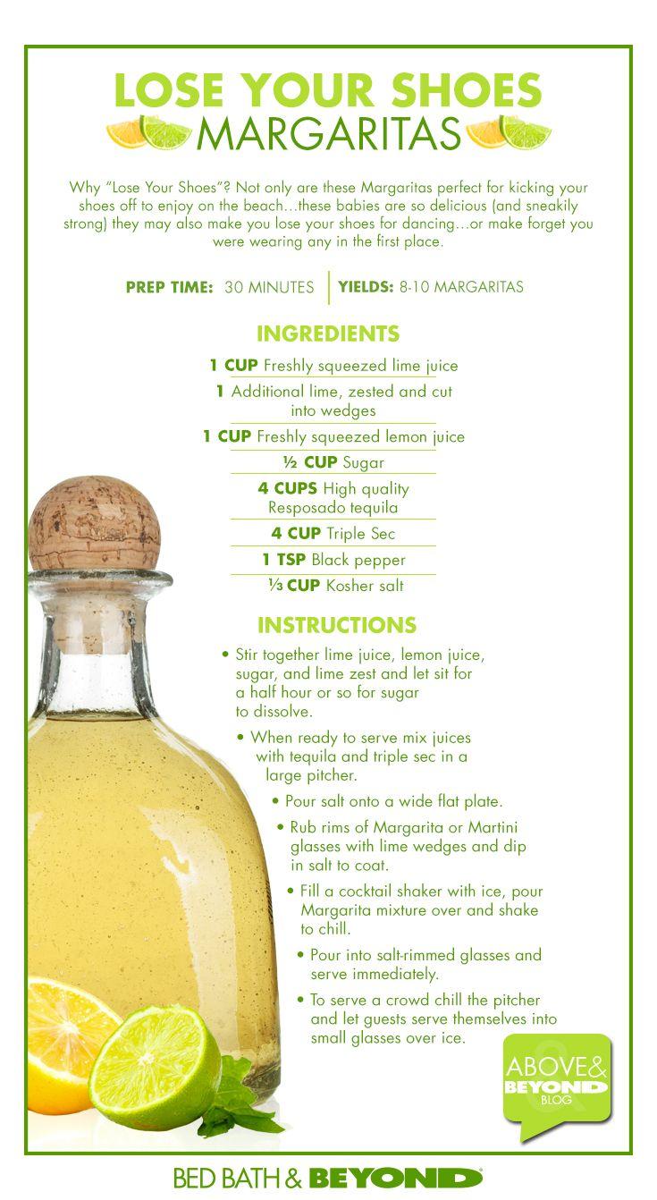 Lose Your Shoes Margarita recipe!