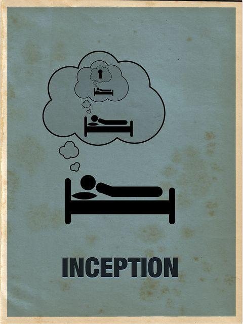 Daha güzel anlatılamazdı bir film bir afişle..Inception.
