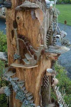 Best 25 fairy tree ideas on pinterest gnome door gnome for Magic cabin tree fort kit
