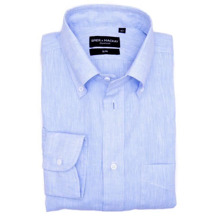 Spier & Mackay provides the best collection of Contemporary Fit Men's shirt. Visit: http://www.spierandmackay.com/product_information/4332_light_blue_linen now to place your order for Light Blue Linen Men's shirt.