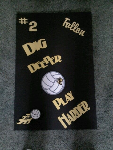Another homecoming sign for 2013 volleyball