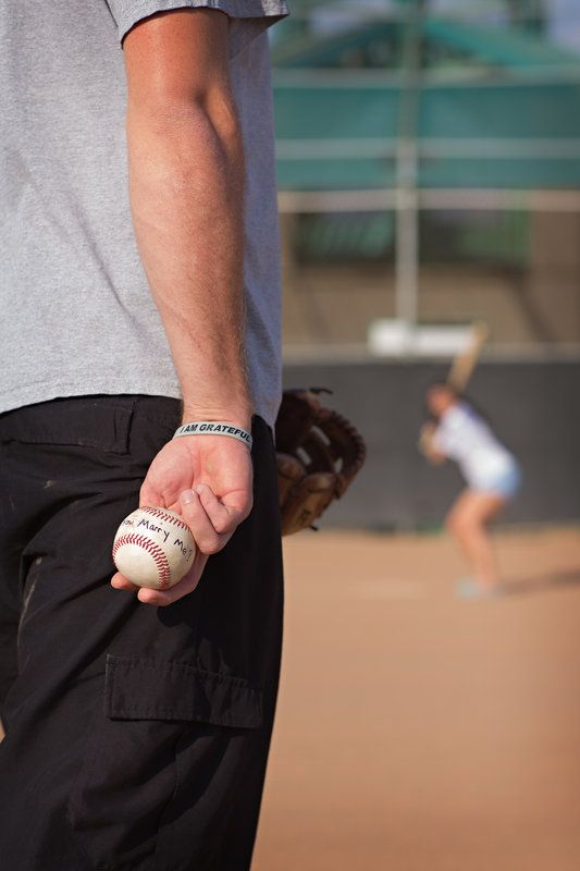 Marry me Baseball engagement Photo By Alyssa Turner Photography