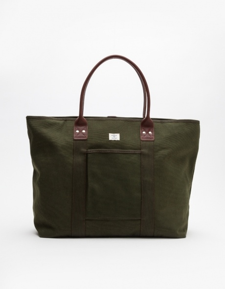Large Tote In Olive by Billykirk