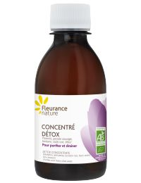 Concentré Détox Bio, Complément Alimentaire, Huiles Essentielles - Fleurance Nature