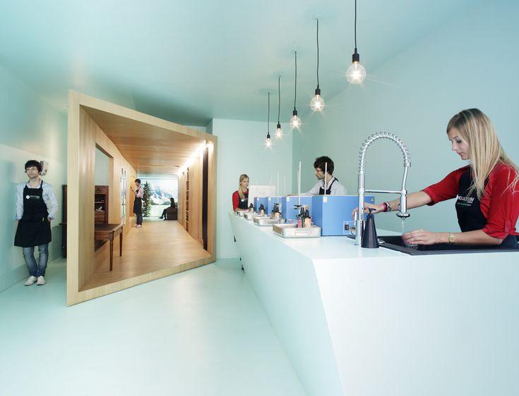 Une pièce dans la pièce, ou la mise en abîme appliquée à l'aménagement —Helicosm / FREAKS freearchitects