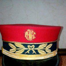 gorra de maquinísta de renfe ferrocarril - Comprar Boinas y gorras militares en todocoleccion - 19727759