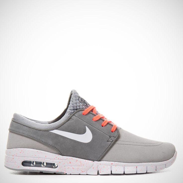 Nike Stefan Janoski Air Max L Wolf Grey/White/Cool Grey/Hot Lava