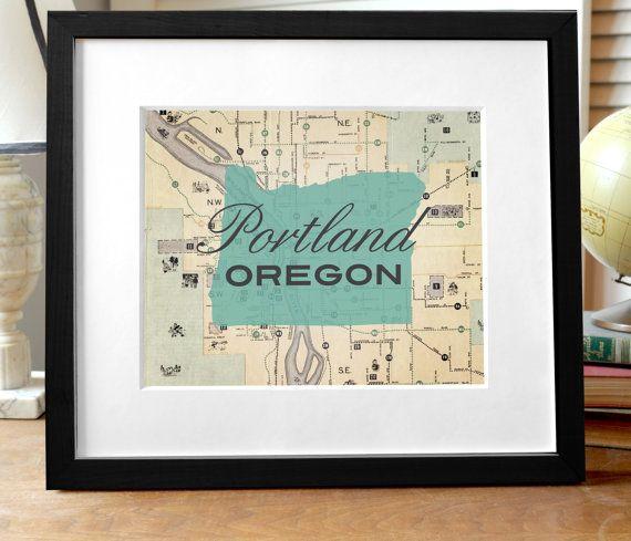 Best 25 Portland map ideas on Pinterest