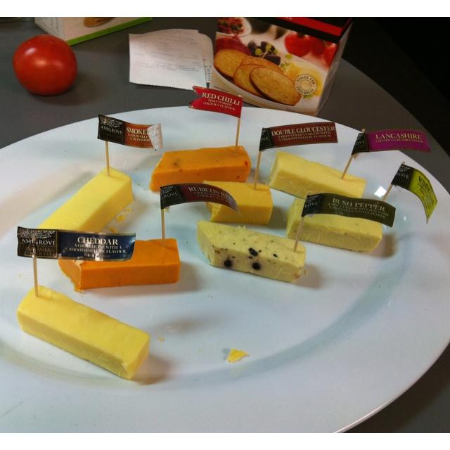 Delicious Tasmanian Ashgrove cheese