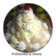 Ingredienti per 24 bignè: 190 ml di acqua 45 gr di burro 1 pizzico di sale 110 gr di farina 00 3 uova   Ingredienti crema al limone 2 tuo...