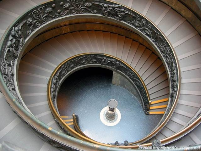 Best Famous Spiral Staircase Vatican Museum Spiral 640 x 480