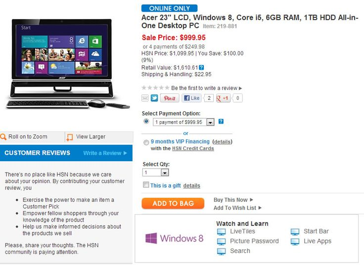Microsoft discontinues HSN's Windows 8 laptop promotion, claims offer was premature | WinBeta