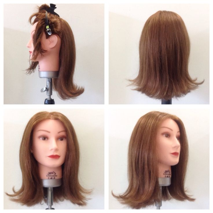 Convex solid notch - blowdry/curlers styling