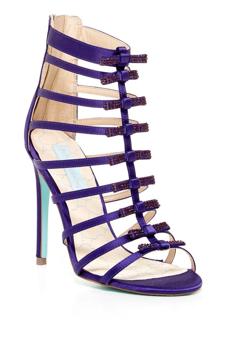 Betsey Johnson   Tie High Heel Sandal//
