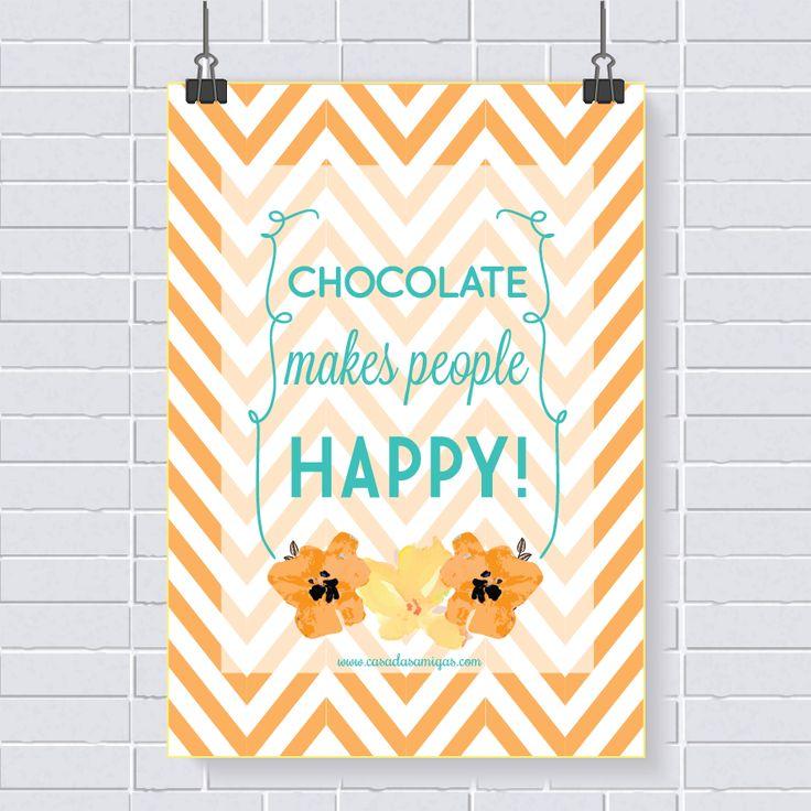 Pôster grátis: chocolate