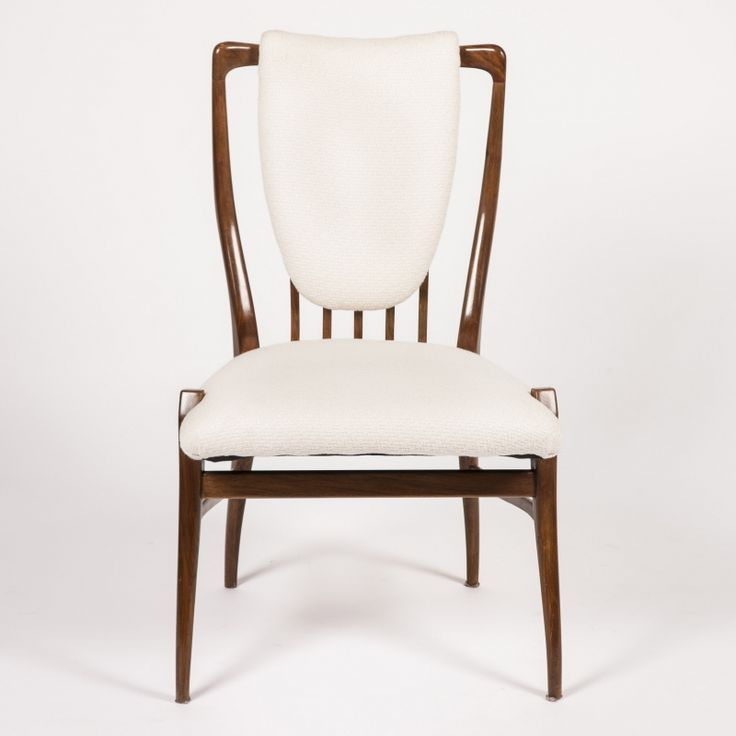 ROSEWOOD DINING CHAIRS BY ANDREW J MILNE By Birgit Israel