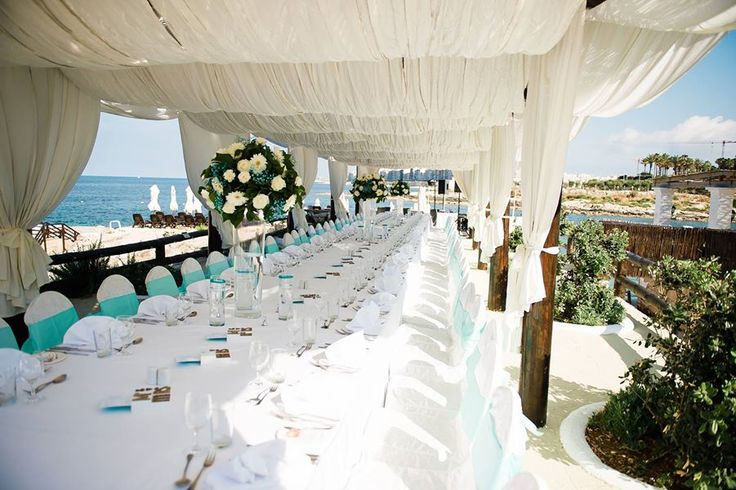 Scenic Terrace weddings in Malta by The Bridal Consultant