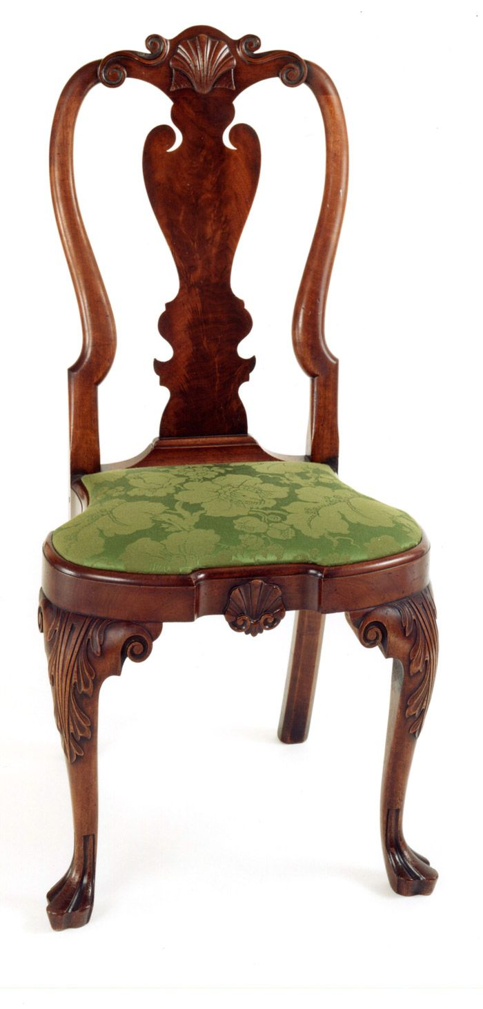 Andersen Stauffer Furniture Makers Seating Coates Family Queen Anne