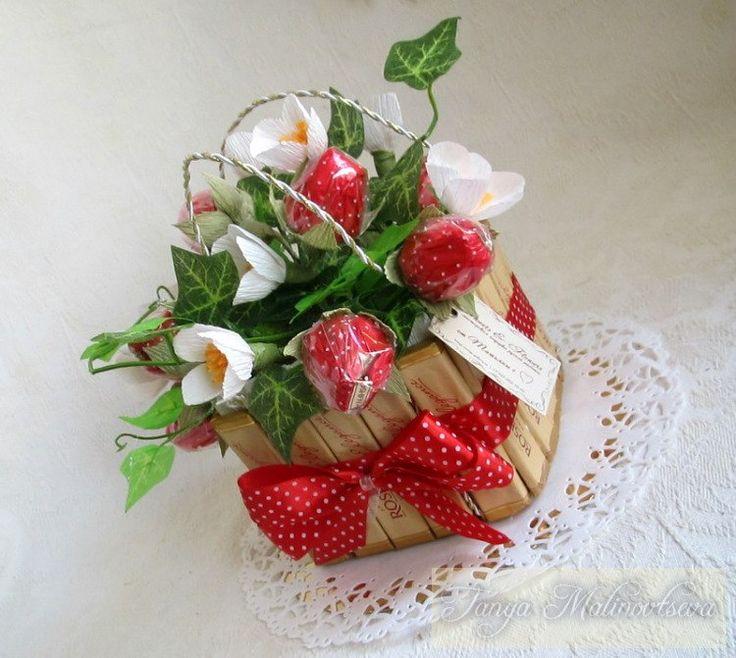 Букеты из конфет г. Никополь