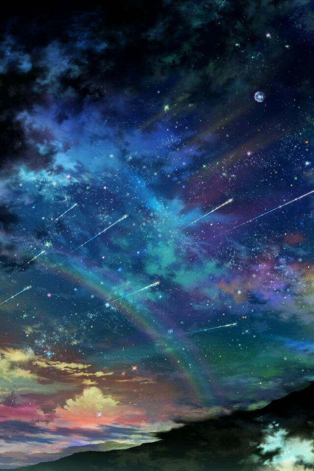 Beautiful. Almost looks like a night sky out of Makoto Shinkai's works *_*