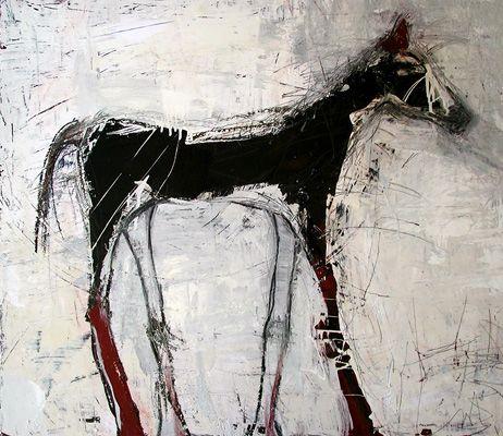 Jylian Gustlin - Animals - Contemporary Artist - Figurative Painting