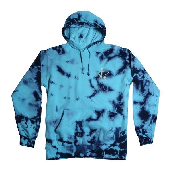 6f890924eb090f This UNISEX 'Tie-Dye Jawbreaker Hoodie' is a custom garment and crystal wash