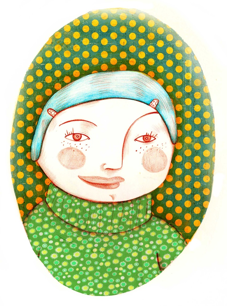Celeste - Olivia Paroldi Illustration  http://lolive.ultra-book.com/book