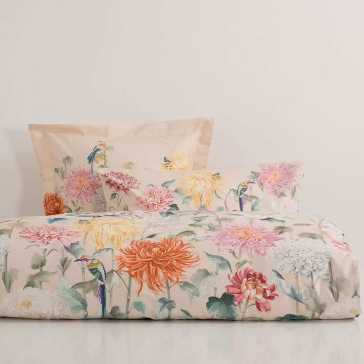 Chrysanthemum Print Bedding - Bed Linen - Bedroom | Zara Home United States of America