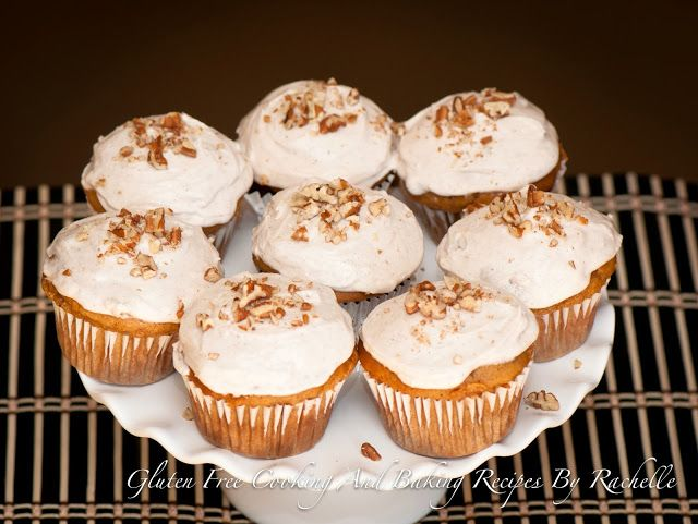 Yummy! Gluten-free Pumpkin Spice Cupcakes - I could go for one of ...