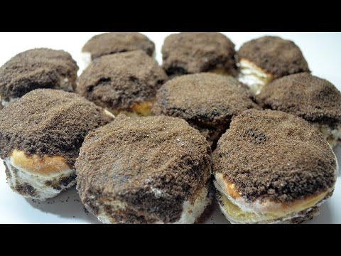 Como hacer Tortitas negras - YouTube