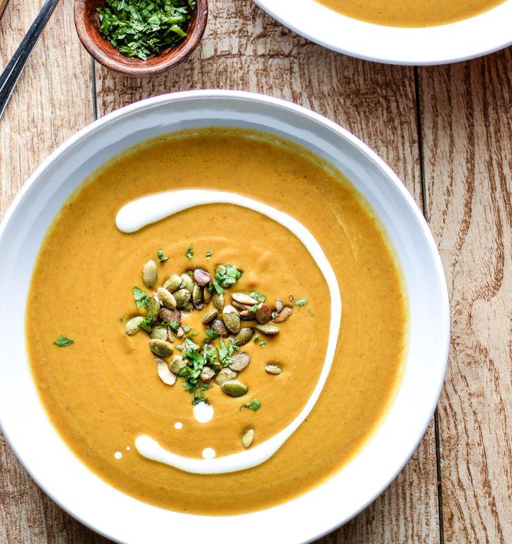 Best 25+ Creamy pumpkin soup ideas on Pinterest | Roast ...