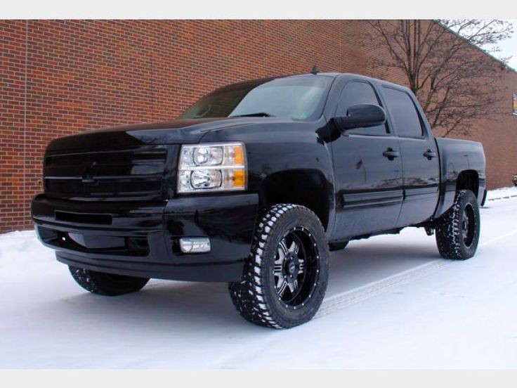 2014 chevy silverado lifted | Chevy Silverado 2014 Black Lifted Chevy gmc